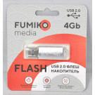 USB Flash 4Gb Fumiko Paris серебро