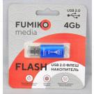 USB Flash 4Gb Fumiko Paris синяя