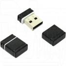 USB Flash 4Gb Qumo Nano черная
