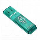 USB Flash 4Gb Smart Buy Glossy зеленая