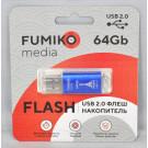 USB Flash 64Gb Fumiko Paris синяя