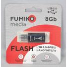 USB Flash 8Gb Fumiko Paris черная