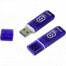 USB Flash 8Gb Smart Buy Glossy темно-синяя 3.0