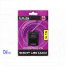 Карта памяти PS2 32Mb EXEQ