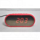 VST 712Y-1 часы настольные с красными цифрами