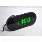 VST 715-4 часы настольные с зелёными цифрами