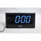 VST 732-5 часы настольные с ярко-синими цифрами
